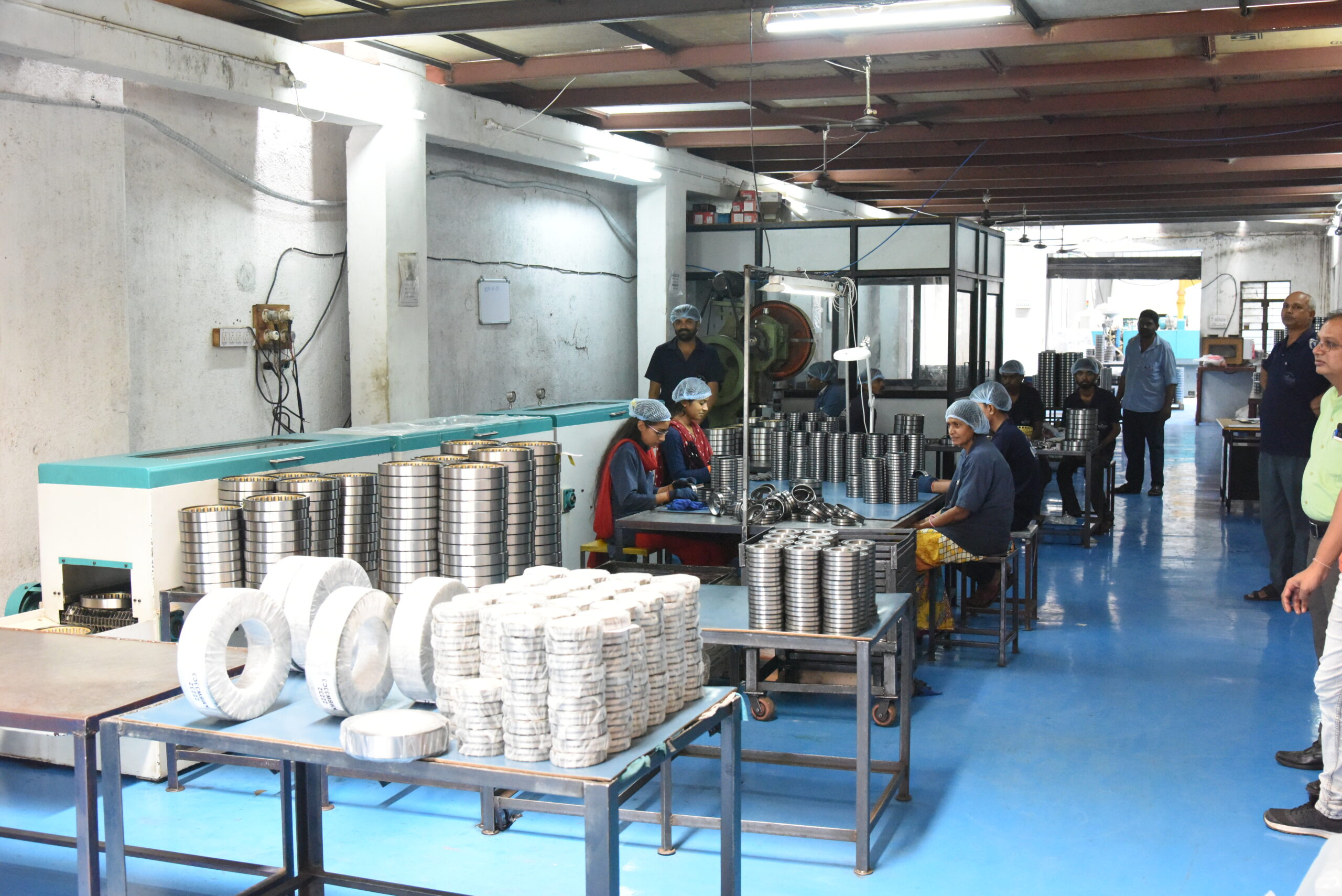 Assembly and Packing - Marc Bearings Pvt. Ltd. - India