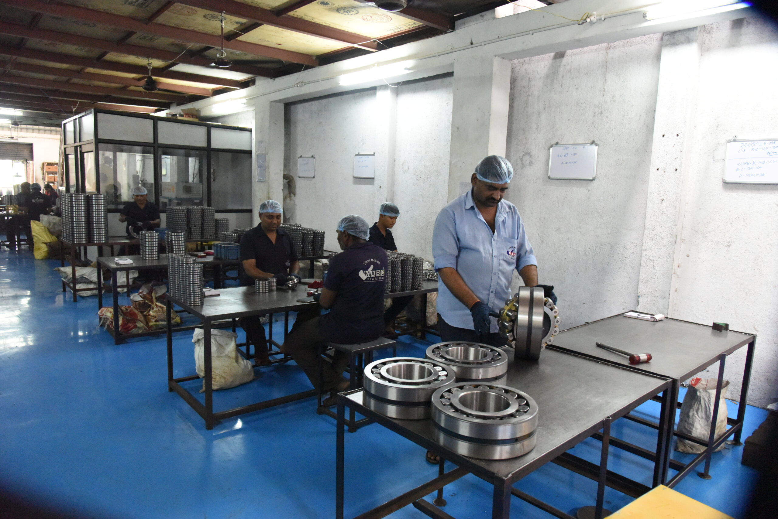 Assembly and checking - Final Inspection - Marc Bearings Pvt. Ltd. - India