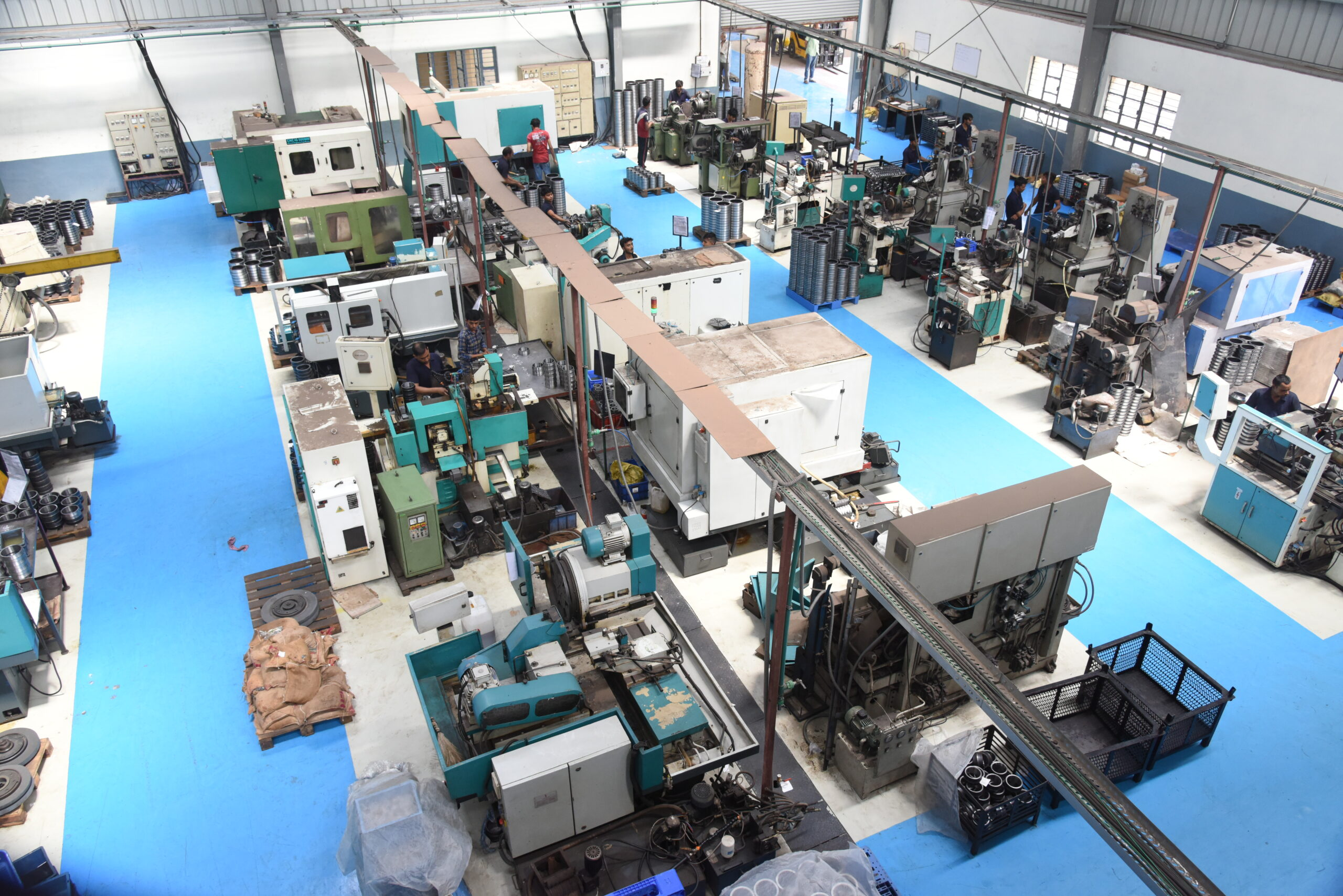 CNC Machine - Production and manufacturing process - 02