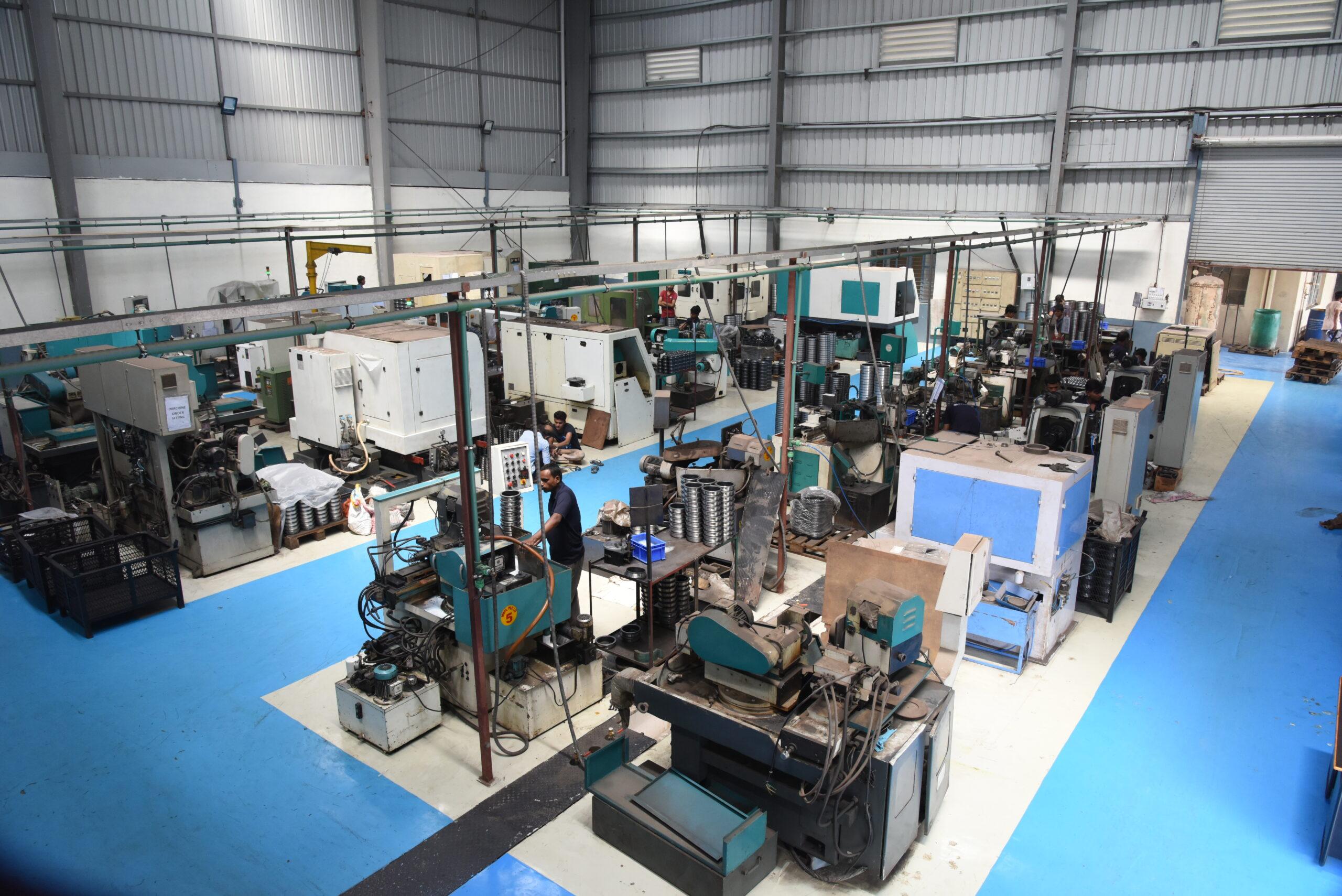 CNC Machine - Production process - Marc Bearings Pvt. Ltd. - india