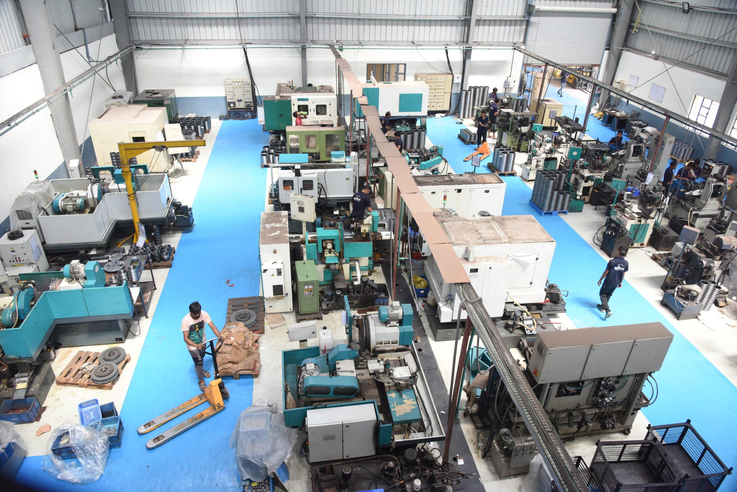 CNC Machine production process - Marc Bearings Pvt. Ltd - India