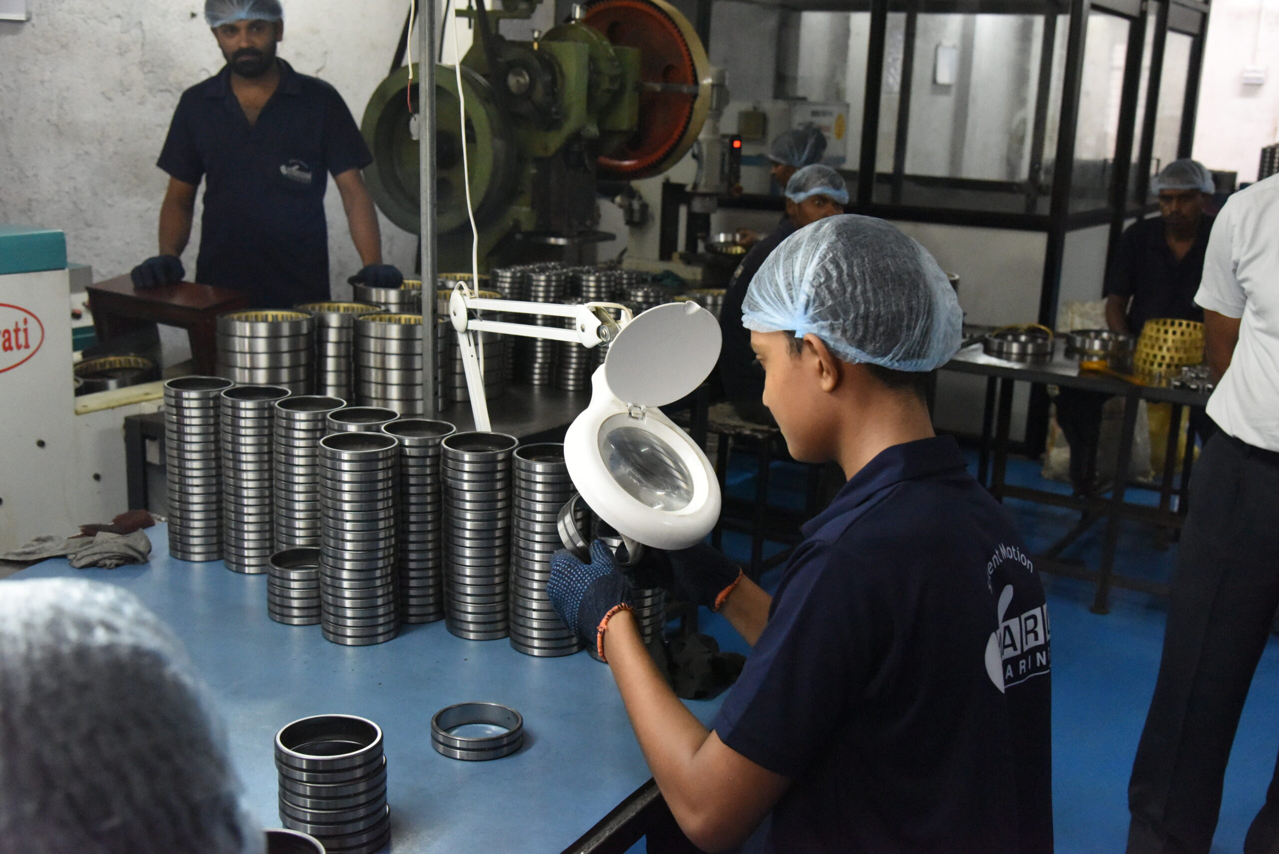 Final inspection and Checking - Marc Bearings Pvt. Ltd - India