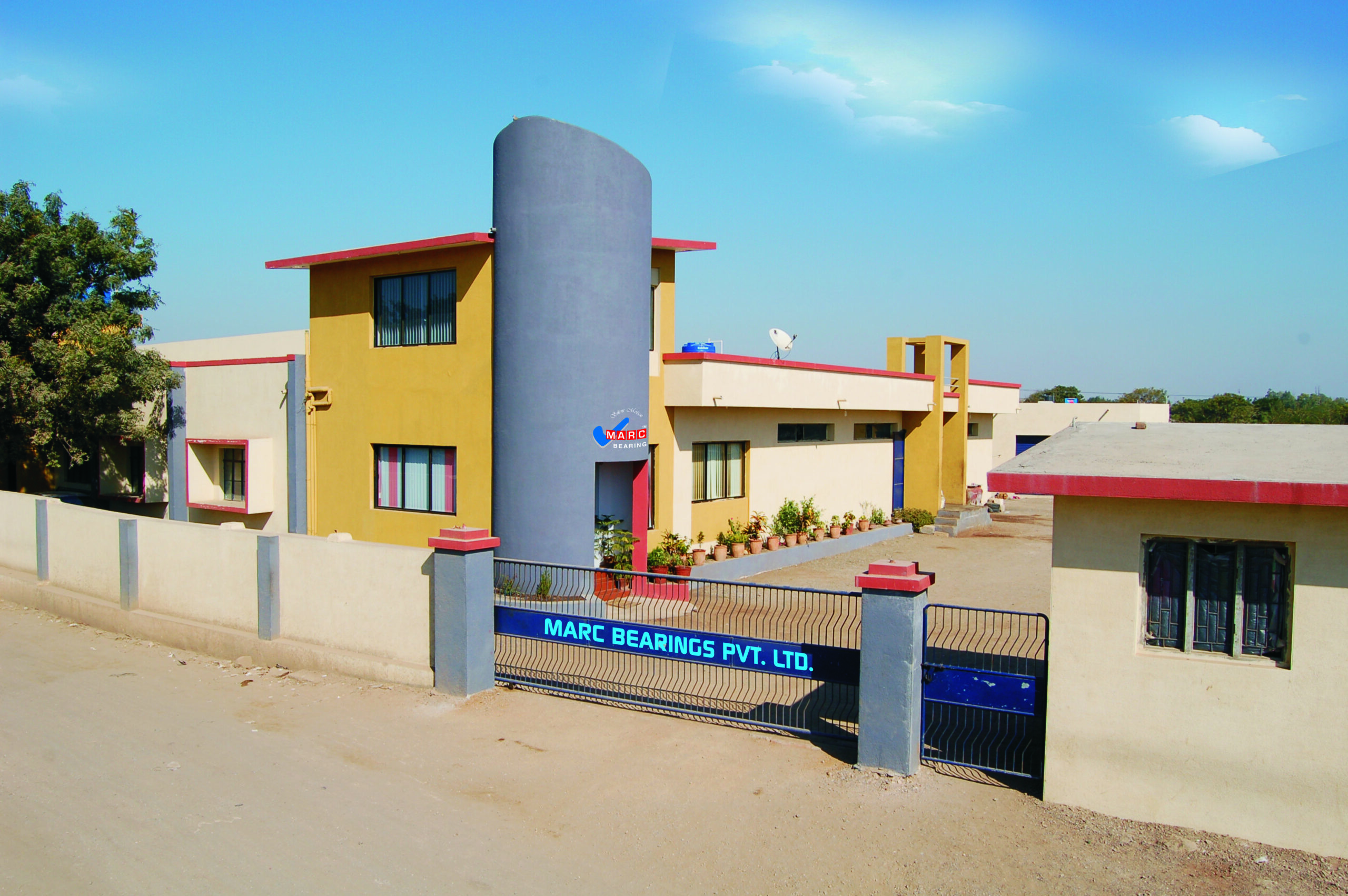 Infrastructure - Marc Bearings Pvt. Ltd. - India -01