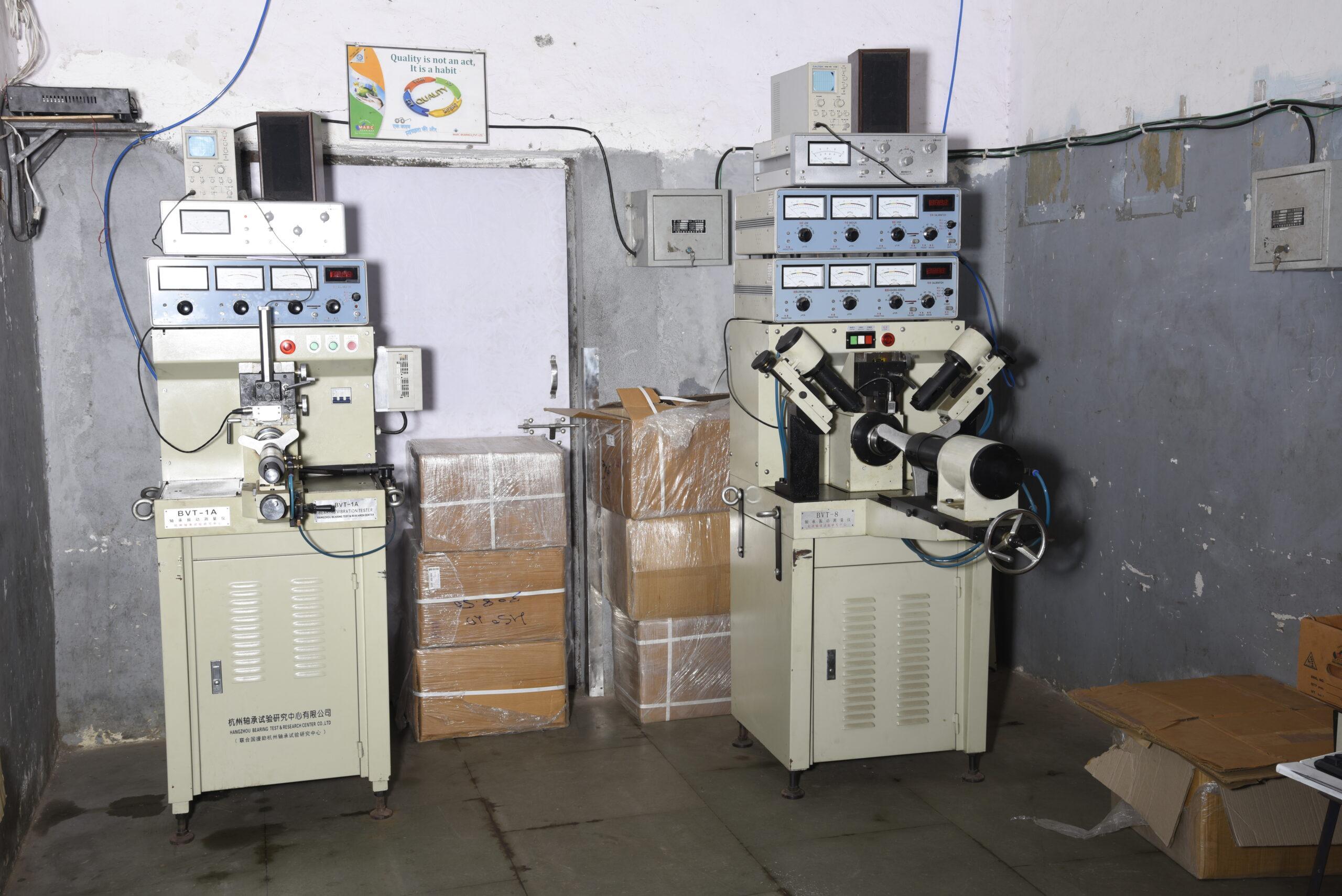 Noise and Vibration Testing Machine - Marc Bearings Pvt. Ltd. - India