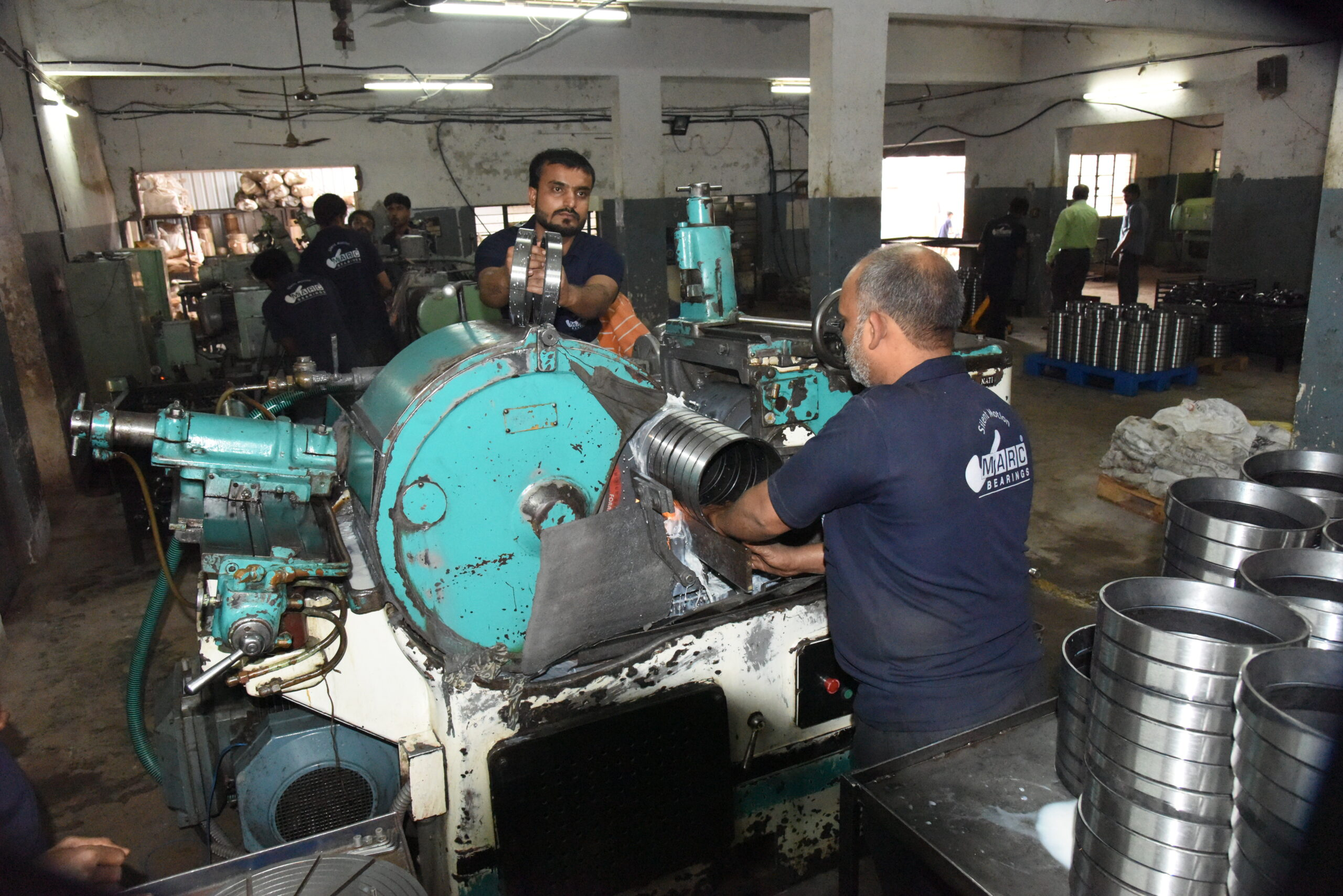 Production and Manufacturing process - Marc Bearings Pvt. Ltd. - india - 03