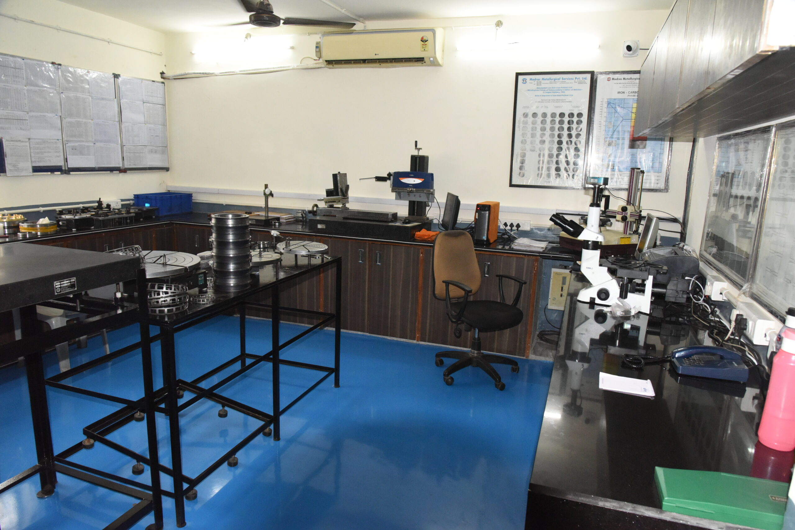Quality Control - Standard Room - Marc Bearings Pvt. Ltd. - India