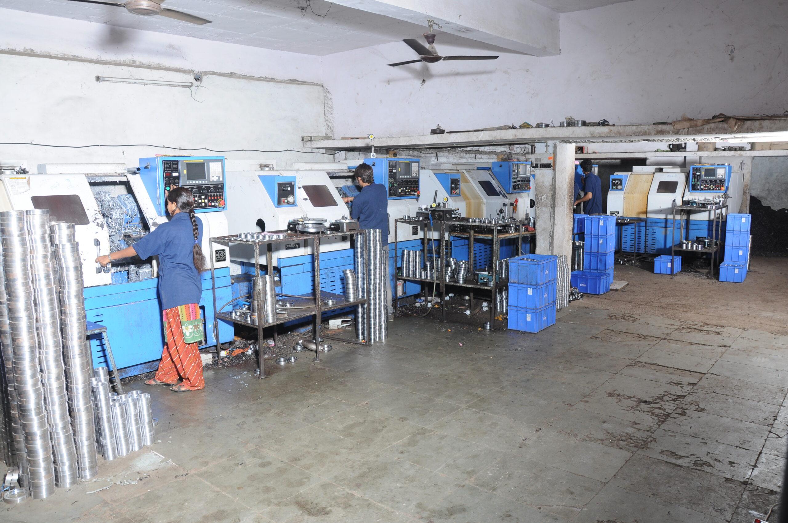 Turning process - Marc Bearings Pvt. Ltd. - India