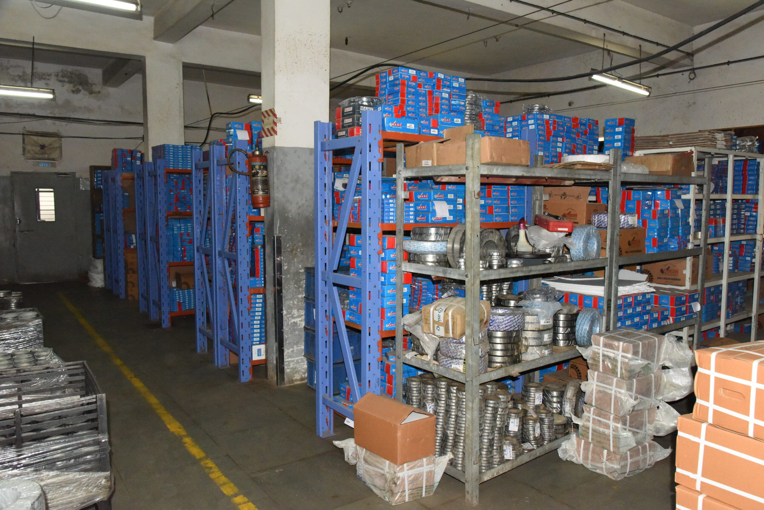 Warehouse and Stock Room - Marc Bearings Pvt. Ltd. - India 021